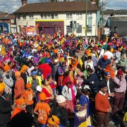 Vaisakhi - Solent TV, crowd pic