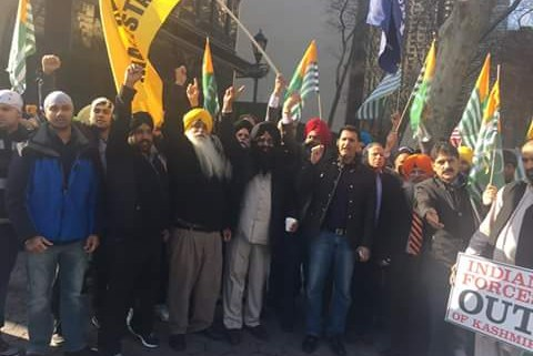 Khalistan NY protest Jan 26 India Repub