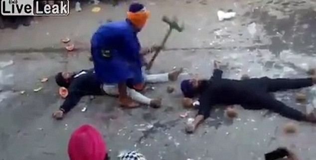 Viral Gatka fail video