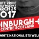 White pride edinburgh march