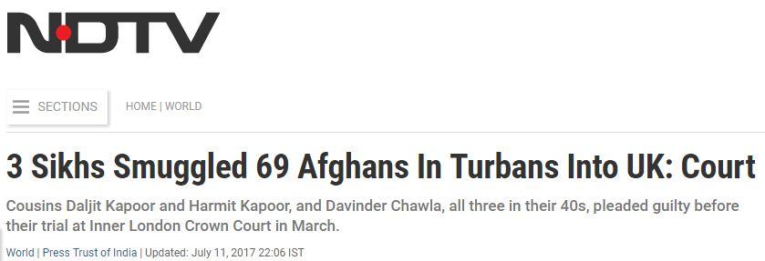Afghan headline