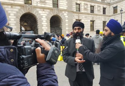 #FreeJaggiNow Gurpreet Singh media