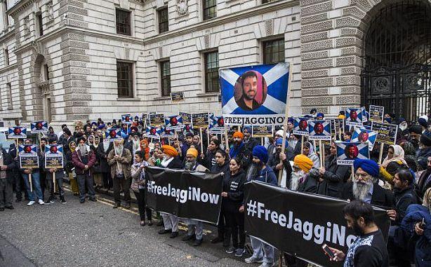 #FreeJaggiNow protest pic