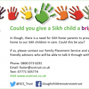 Foster in Slough Sikh FB