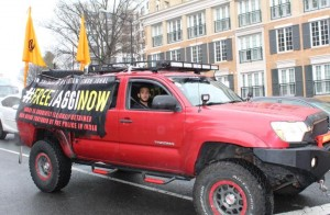 #FreeJaggiNow - washington rally