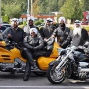 Sikh motorcycle helmet pic