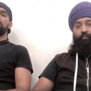 Gurpreet Singh (left) and Deepa Singh (right).
